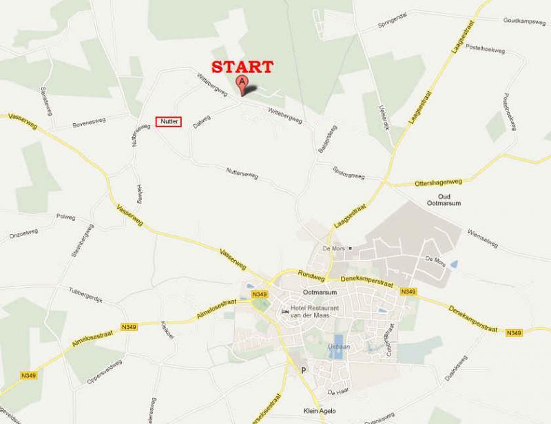 startlocatie VHC in Nutter