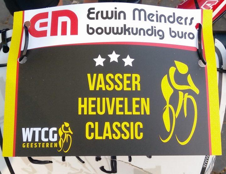 Vasser Heuvelen Classic gaat niet door op 4 oktober 2020
